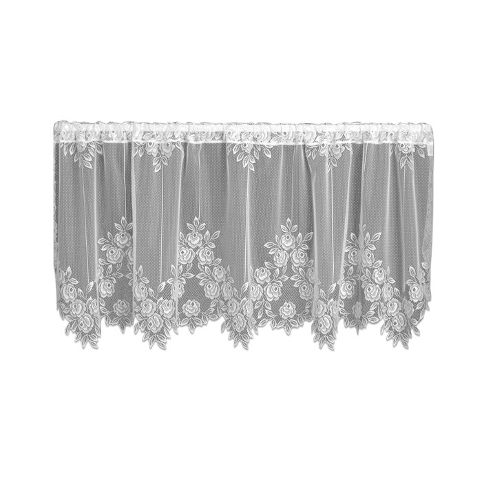 Steinberger Tier Cafe Curtain Regarding Classic Black And White Curtain Tiers (View 39 of 50)