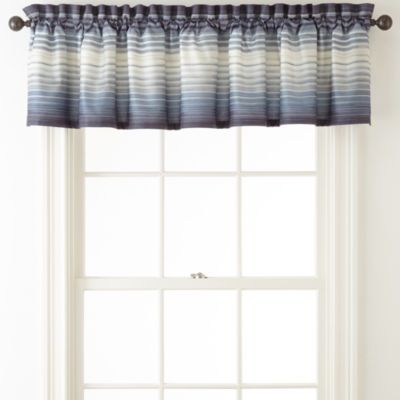 Studio™ Hudson Rod Pocket Valance – Jcpenney | Gabriel With Hudson Pintuck Window Curtain Valances (View 28 of 30)