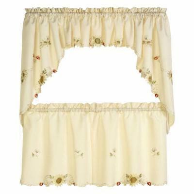 Sunflower Kitchen Curtains – Tallfloorvases (View 45 of 50)