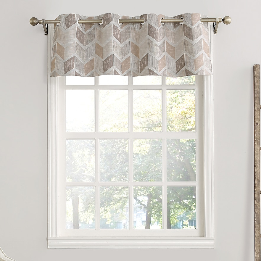 The Big One Blackout Valance | Products | Chevron Valance Pertaining To Trellis Pattern Window Valances (#21 of 30)