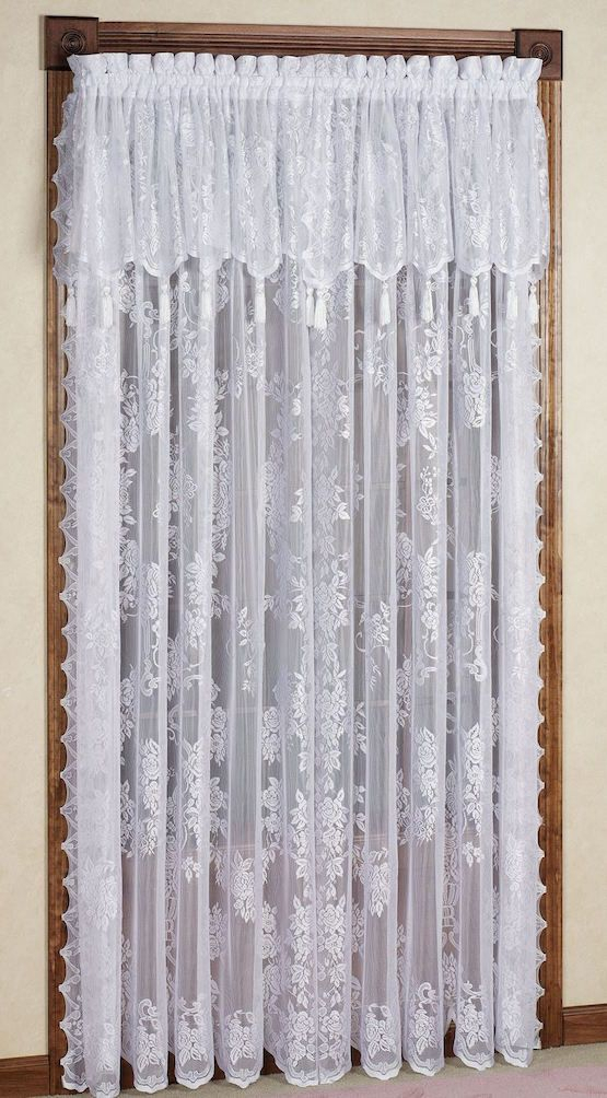The Granny Decor Mistakes You Might Be Making | Lace For White Knit Lace Bird Motif Window Curtain Tiers (View 39 of 50)