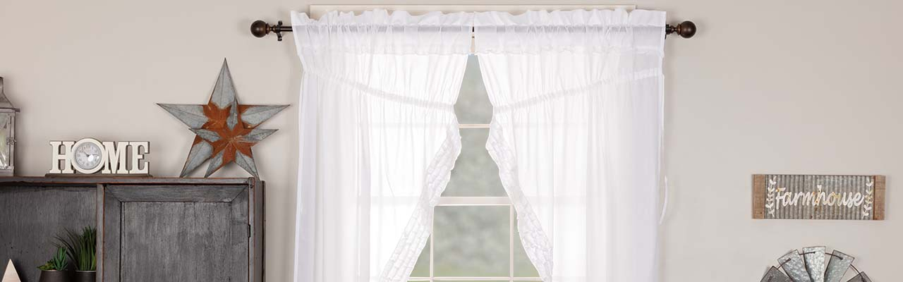The Retailer's Quick Guide To Buying Sheer Curtains Inside Bermuda Ruffle Kitchen Curtain Tier Sets (View 43 of 50)