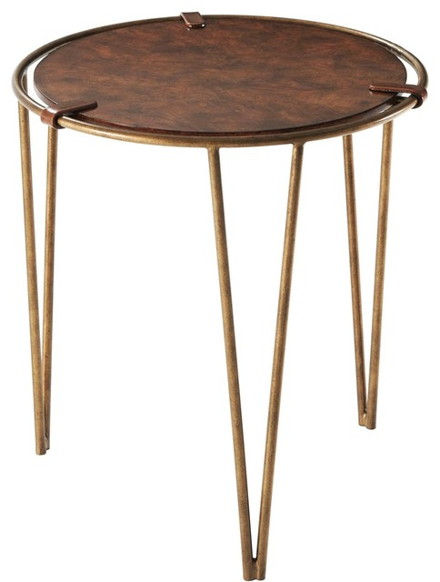 Theodore Alexander Anthony Cox Chapman Accent Table In Well Known Chapman Round Marble Dining Tables (#25 of 30)