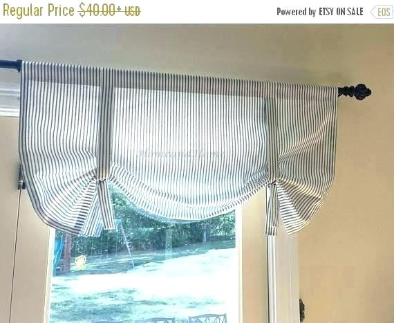 Ticking Stripe Curtains – Jjpainting With Regard To Classic Black And White Curtain Tiers (View 42 of 50)