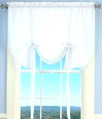 Tie Up Kitchen Curtains – Dietyangbaik In Luxurious Kitchen Curtains Tiers, Shade Or Valances (#39 of 50)