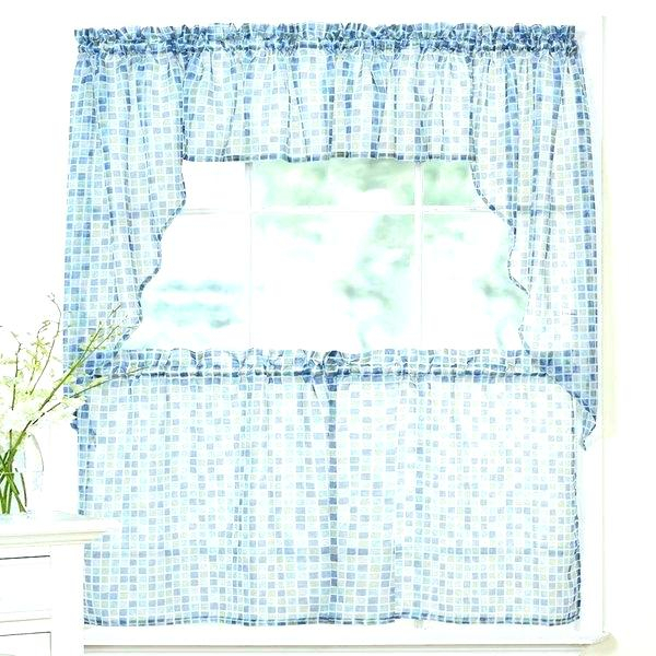 Tier Kitchen Curtains Lace Cafe Curtains Two Tier Kitchen For Luxury Collection Kitchen Tiers (#49 of 50)