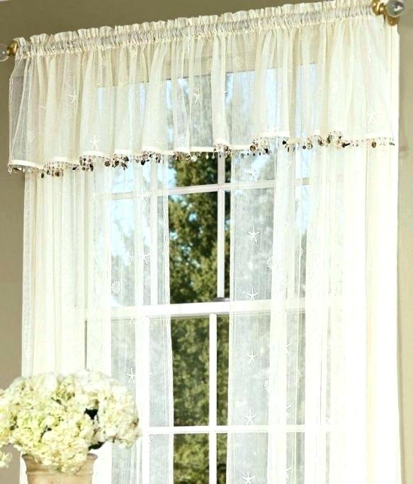 Tier Kitchen Curtains Lace Cafe Curtains Two Tier Kitchen Intended For Coffee Embroidered Kitchen Curtain Tier Sets (View 27 of 30)