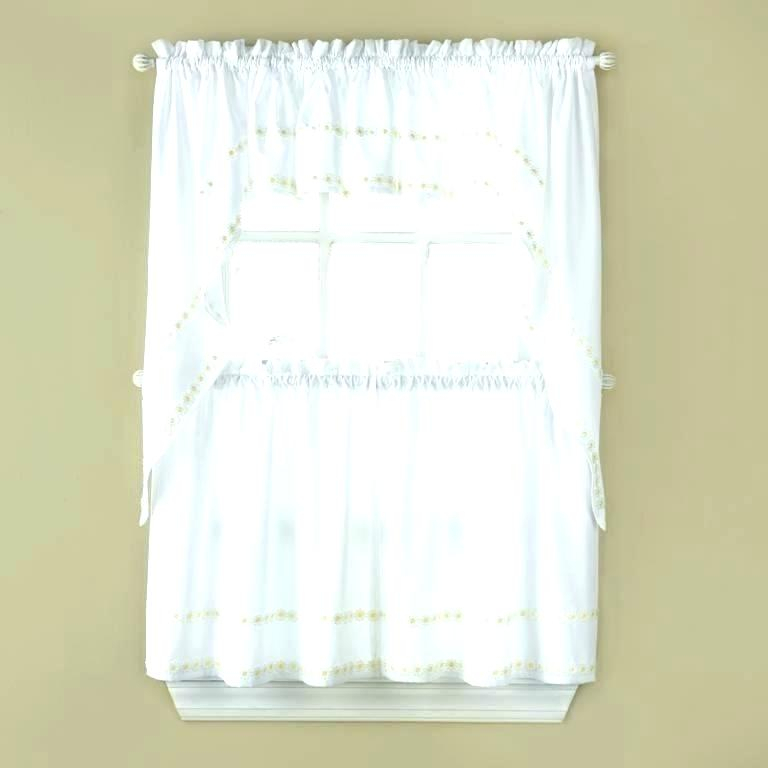 Tier Valances Country Style Cotton Kitchen Curtains And For Live, Love, Laugh Window Curtain Tier Pair And Valance Sets (View 39 of 50)
