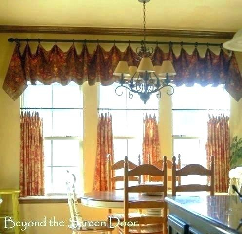 Tiered Valances – Woodspeak Inside Semi Sheer Rod Pocket Kitchen Curtain Valance And Tiers Sets (View 10 of 30)