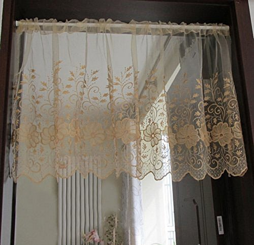 Tiers Regarding Coffee Drinks Embroidered Window Valances And Tiers (View 41 of 45)