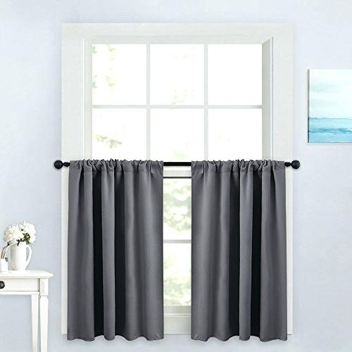 Tiers Valance And Valances For Kitchens – Woodspeak In Grey Window Curtain Tier And Valance Sets (View 47 of 50)