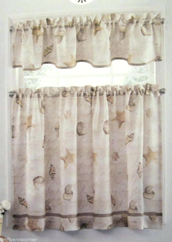 Tiers Valance And Valances For Kitchens – Woodspeak Intended For Coastal Tier And Valance Window Curtain Sets (View 30 of 30)