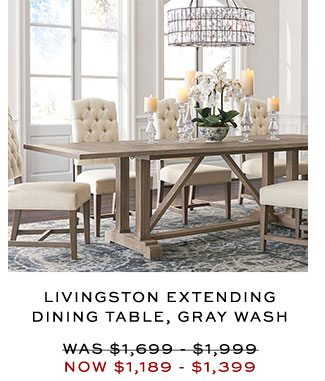 [%Today Only! Up To 70% Off Premier Day Deals + Your Vip Code Pertaining To Most Up To Date Gray Wash Livingston Extending Dining Tables|Gray Wash Livingston Extending Dining Tables Pertaining To Most Recently Released Today Only! Up To 70% Off Premier Day Deals + Your Vip Code|Widely Used Gray Wash Livingston Extending Dining Tables Regarding Today Only! Up To 70% Off Premier Day Deals + Your Vip Code|Famous Today Only! Up To 70% Off Premier Day Deals + Your Vip Code Throughout Gray Wash Livingston Extending Dining Tables%] (#30 of 30)