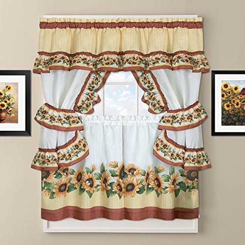 Top 20 Cabin Curtains – Top Decor Tips Intended For Barnyard Window Curtain Tier Pair And Valance Sets (View 47 of 50)