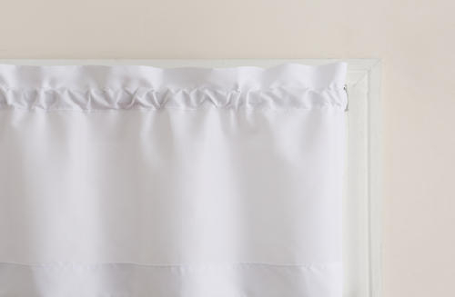 Top Of The Window Martine Rod Pocket Light Filtering 3 Piece Intended For Microfiber 3 Piece Kitchen Curtain Valance And Tiers Sets (View 20 of 30)