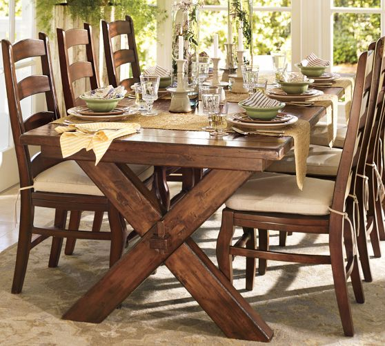 "Toscana Extending Dining Table, Tuscan Chestnut, 60"" – 84"" L Intended For Famous Tuscan Chestnut Toscana Extending Dining Tables (View 4 of 30)"