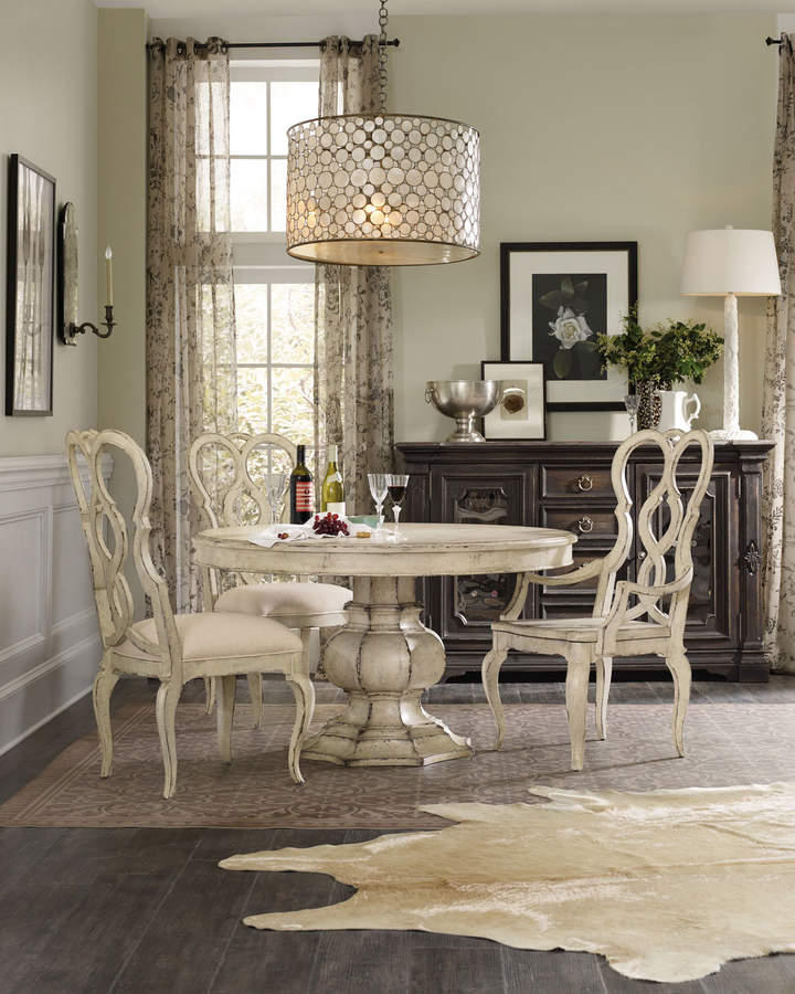 Trendy Brooks Pedestal Dining Table In  (#27 of 30)