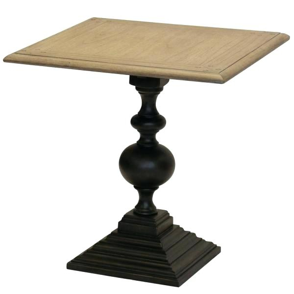 Trendy Dawson Pedestal Tables With Round Pedestal Coffee Table – Maa Group (#19 of 20)