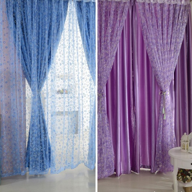 Tulle Voile Circle Bubble Door Room Window Curtain Drape Panel Scarf  Valance In Curtains From Home & Garden On Aliexpress | Alibaba Group Regarding Circle Curtain Valances (View 27 of 30)