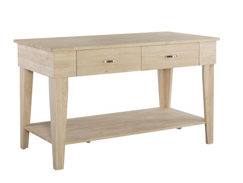 Inspiration about Unfinished Furniture Of Wilmington Pertaining To Widely Used Elworth Kitchen Island (#18 of 20)