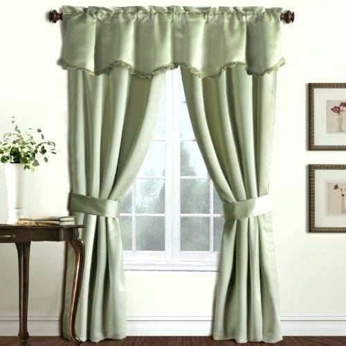 United Curtain Company – Fakesartorialist Regarding Abby Embroidered 5 Piece Curtain Tier And Swag Sets (View 29 of 30)