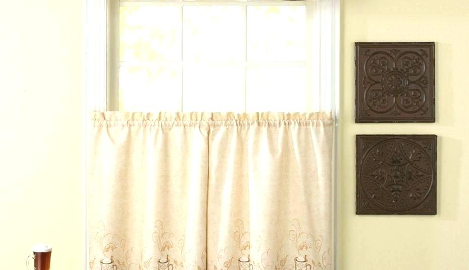Valance And Tier Curtain Sets Linen Color 3 Piece Window Set Pertaining To Kitchen Window Tier Sets (#46 of 50)