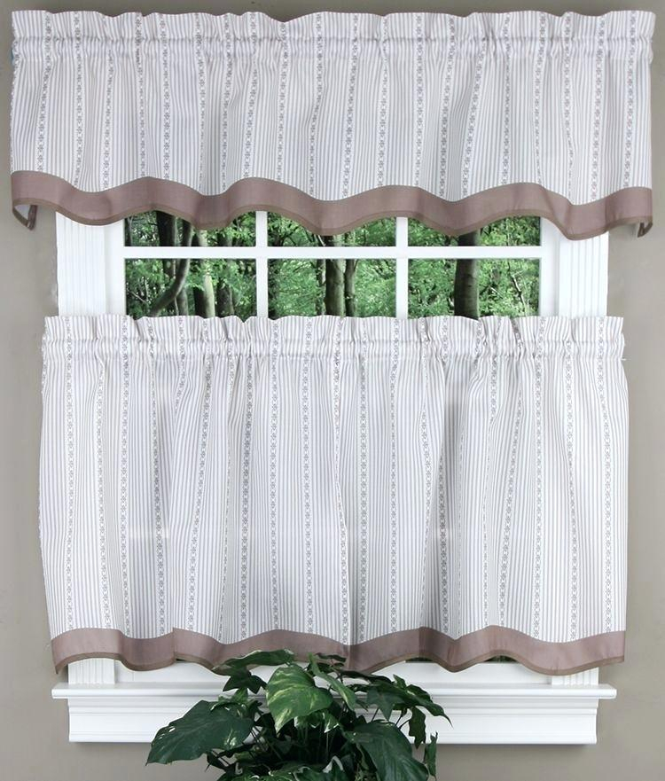 Valance And Tier Curtain Sets – Wendellpurkey (View 43 of 50)