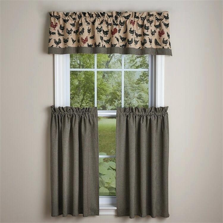 Valance And Tier Curtain Sets – Wendellpurkey (View 47 of 50)