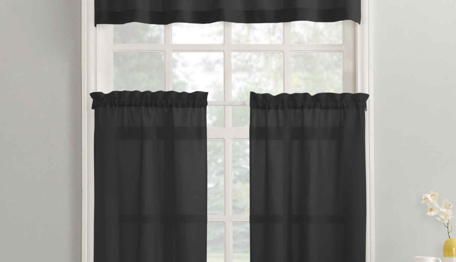 Valance Curtains For Bedroom Curtain Ideas Style Drapery With Regard To Floral Embroidered Faux Silk Kitchen Tiers (View 50 of 50)