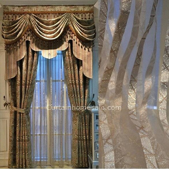 Valance Curtains For Living Room – 22Sblive (View 42 of 50)