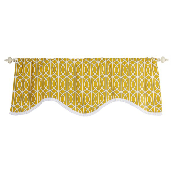 Valances & Kitchen Curtains With Luxurious Kitchen Curtains Tiers, Shade Or Valances (#42 of 50)