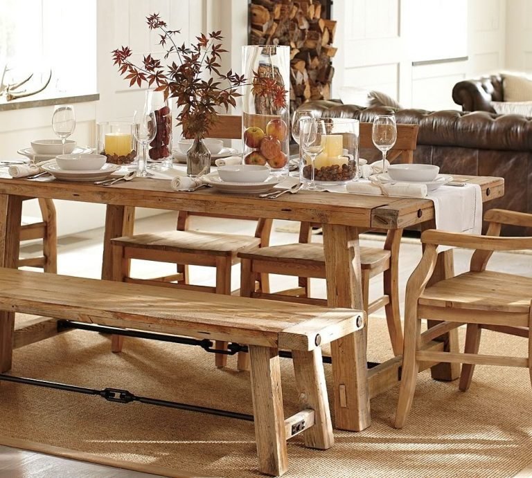 Vintage Benchwright Extending Dining Table (View 9 of 20)
