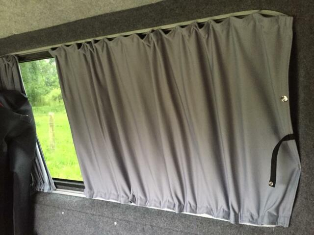 Vw Transporter T5 Van Blackout Curtains – Rear Window Sets Only | In  Exeter, Devon | Gumtree Intended For Glasgow Curtain Tier Sets (View 30 of 30)