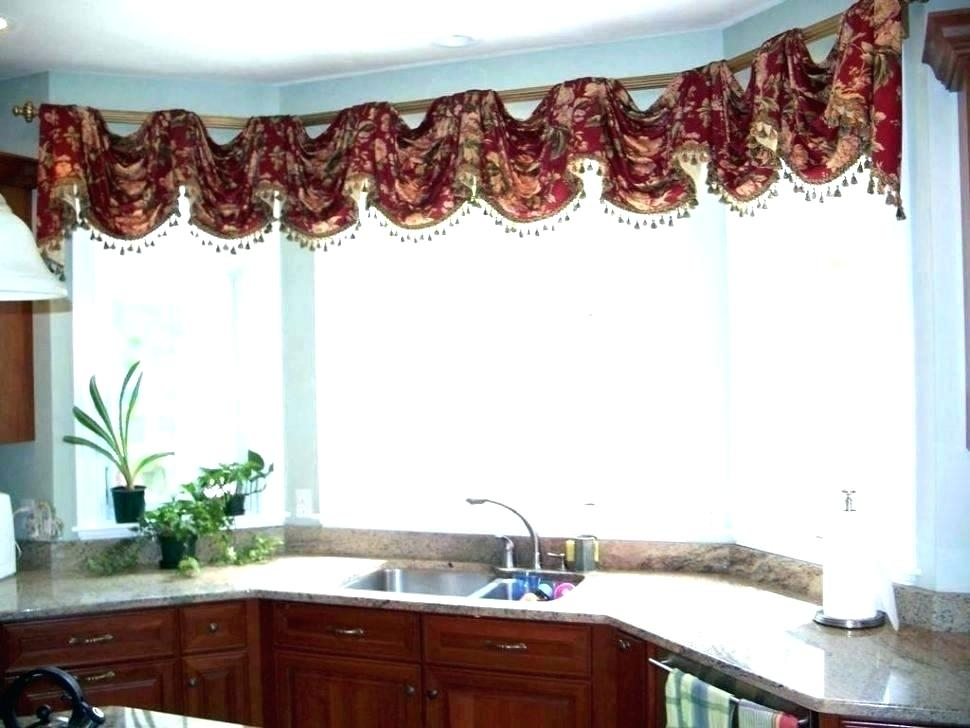 Walmart Kitchen Curtains Valances – Uniquesolution (View 30 of 30)
