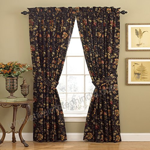 Waverly 10982050X084No Felicite 50 Inch84 Inch Single In Waverly Felicite Curtain Tiers (#22 of 45)