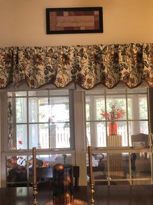 Waverly Felicite Window Curtain Valance – Walmart Inside Waverly Felicite Curtain Tiers (#34 of 45)