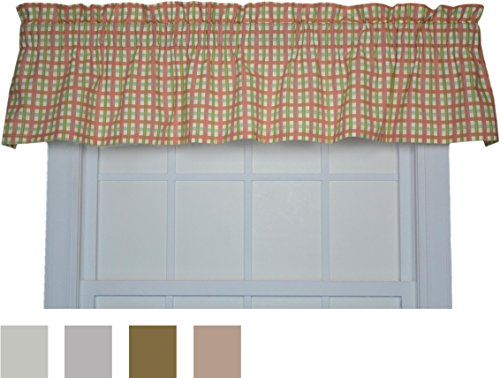 Waverly Felicite Window Valance – Crimson: Kitchen & Dining Regarding Waverly Felicite Curtain Tiers (View 17 of 45)