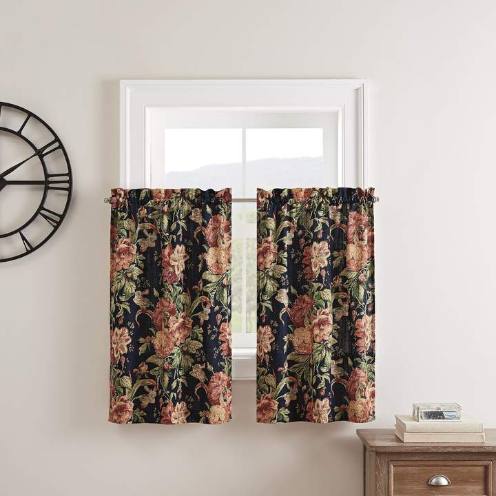 Waverly Panels – Shopstyle In Waverly Felicite Curtain Tiers (#41 of 45)