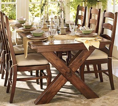 Well Known Diy Pottery Barn Inspired Farmhouse Table The Weathered Fox Pertaining To Tuscan Chestnut Toscana Extending Dining Tables (View 10 of 30)