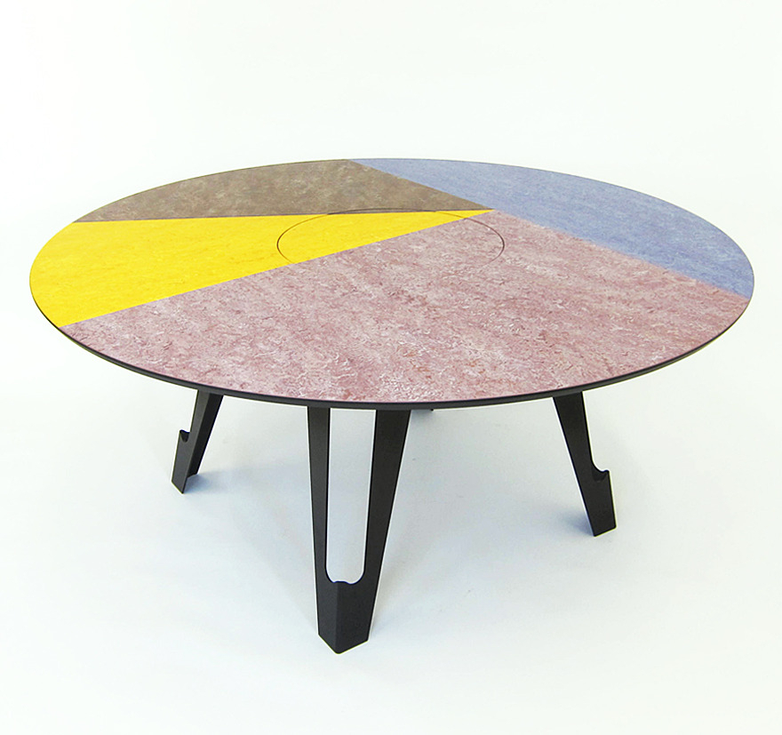 Well Known Martino Gamper, Fragmental Dining Table With Regard To Martino Dining Tables (#29 of 30)