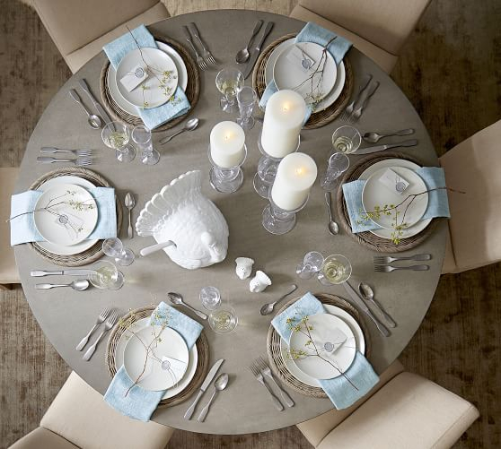 """Well Liked Brooks Round Dining Tables With Regard To Brooks Round Dining Table, Seadrift, 60"""" D (#29 of 30)"""