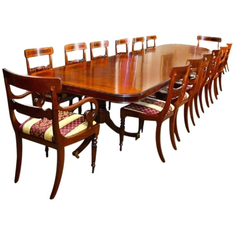 Well Liked Extending Dining Table Seats 14 – Iveplay (View 19 of 30)
