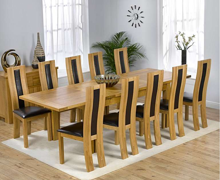 Well Liked Normandy Extending Dining Tables Pertaining To Normandy 180Cm Solid Oak Extending Dining Table With Toronto Chairs (#28 of 30)