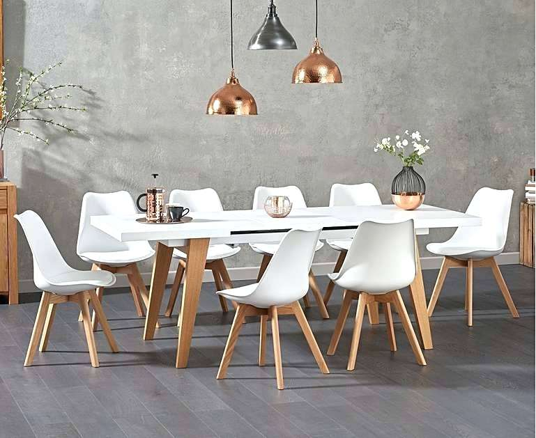 White Dining Table Extending White Dining Table With Duke Throughout Trendy Hart Reclaimed Wood Extending Dining Tables (#29 of 30)
