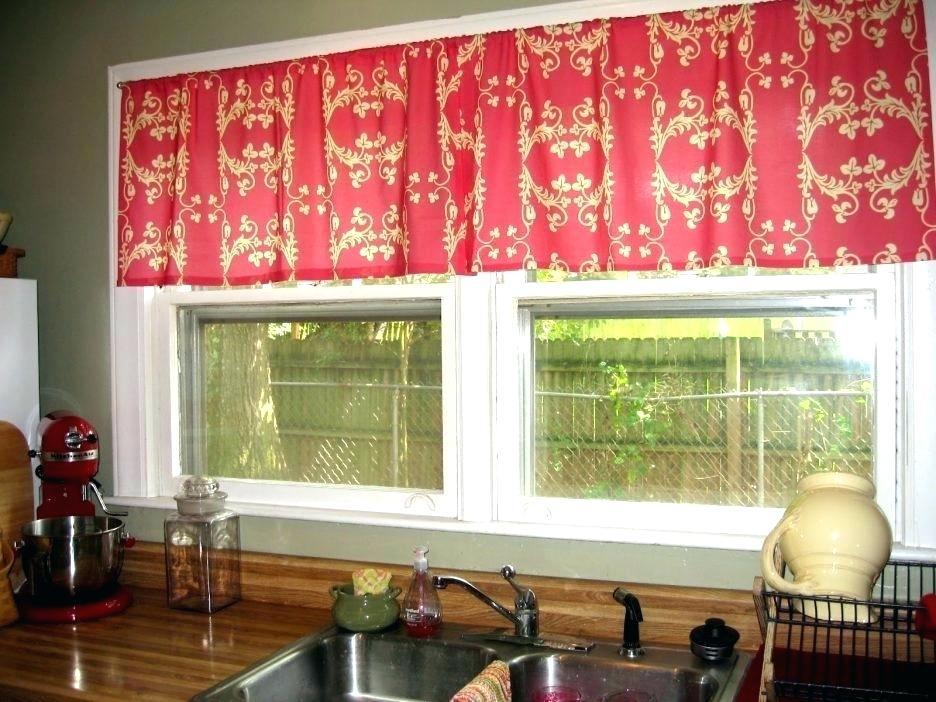 White Kitchen Valance – Ruralinstitute With Regard To Modern Subtle Texture Solid Red Kitchen Curtains (#50 of 50)
