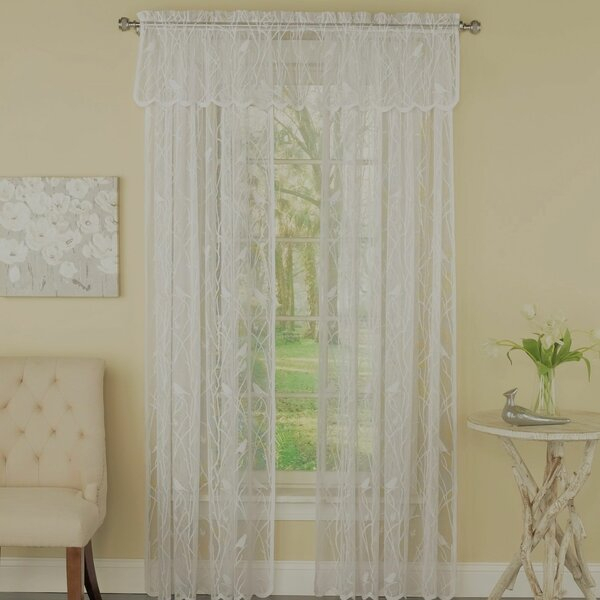 White Lace Balloon Curtains | Wayfair (#47 of 48)