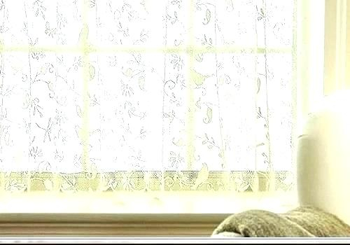 White Lace Curtain Panels – Tmss (View 47 of 50)