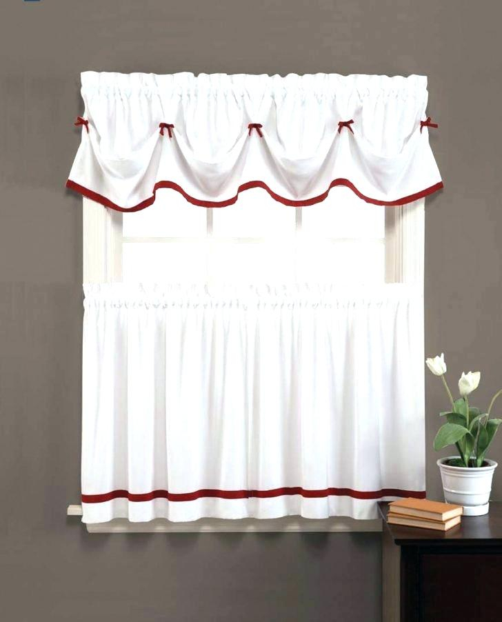 White Tier Curtains Bathroom Decorating Christmas Cookies Inside Modern Subtle Texture Solid White Kitchen Curtain Parts With Grommets Tier And Valance Options (View 49 of 50)