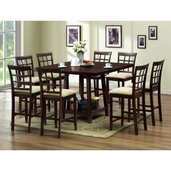 Widely Used Baxton Studio Dining Set – Theness For Lucy Bar Height Dining Tables (#20 of 20)