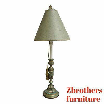 Widely Used Chapman Marble Oval Dining Tables With Regard To Chapman Marble Italian Regency Table Lamp Slender Candle Stick (View 14 of 30)